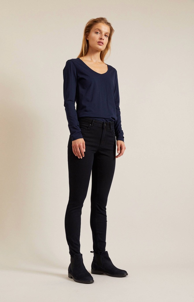 High Waist Jeans kbA (Før 899,00 kr)