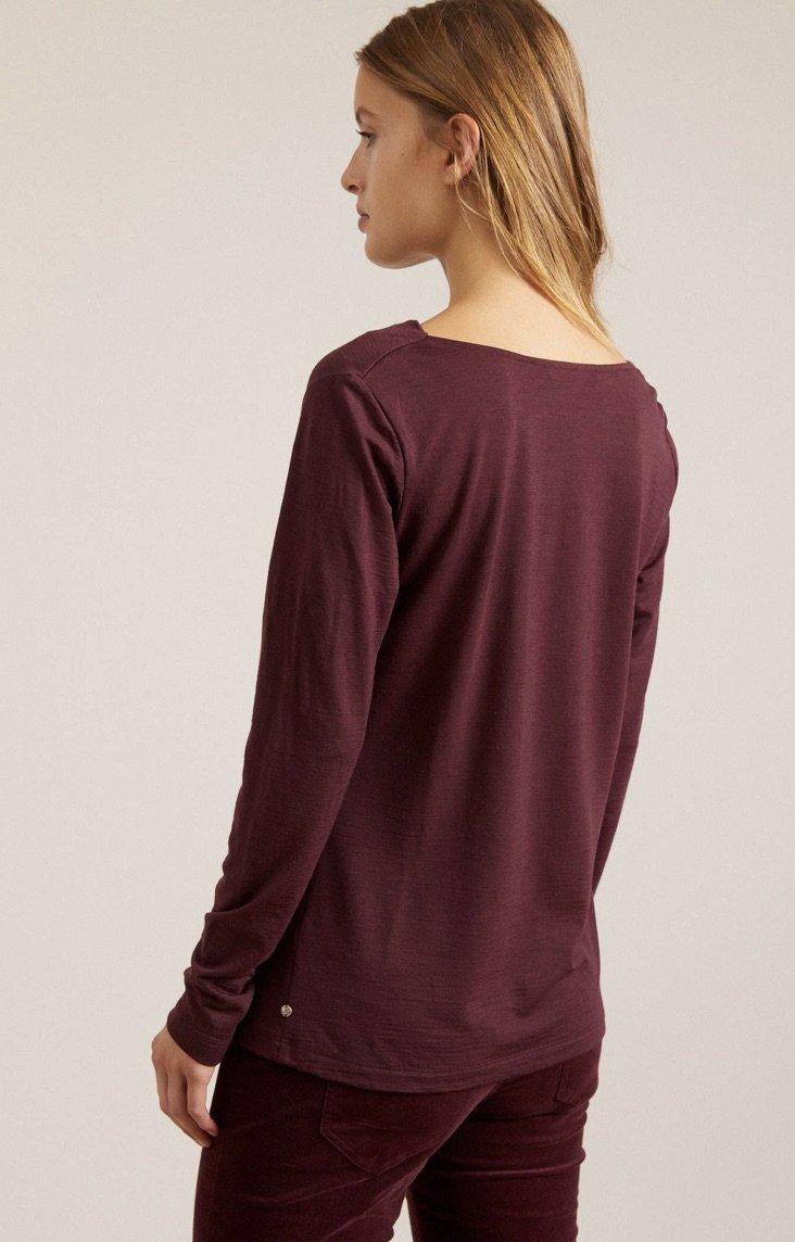 Cassis Wasserfallshirt Shirt GOTS ( Før 749 kr)