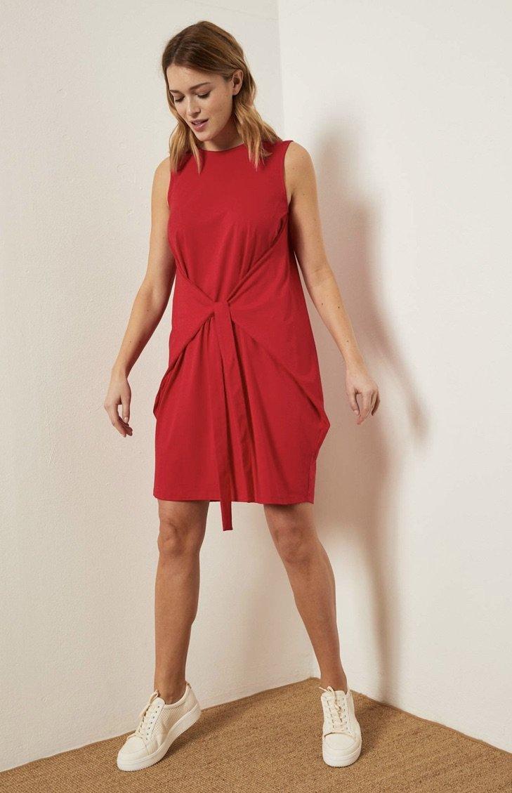 Kleid mit Bindedetail ( Før 599 kr)