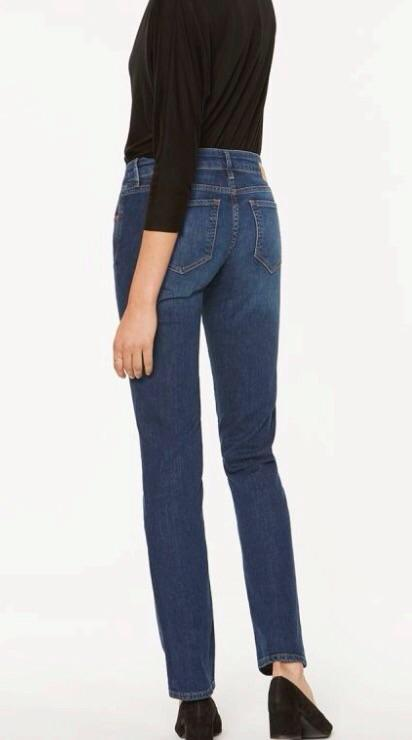 Luma Straight Mid Rise Denim ( Før 825)