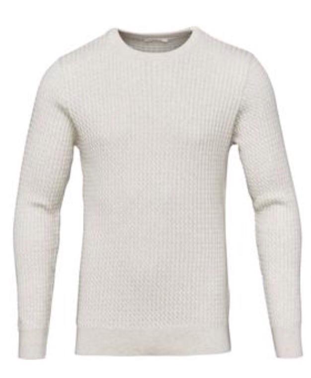 Organiccotton/Cashmere Cable Knit -GOTS ( Før 899 kr)