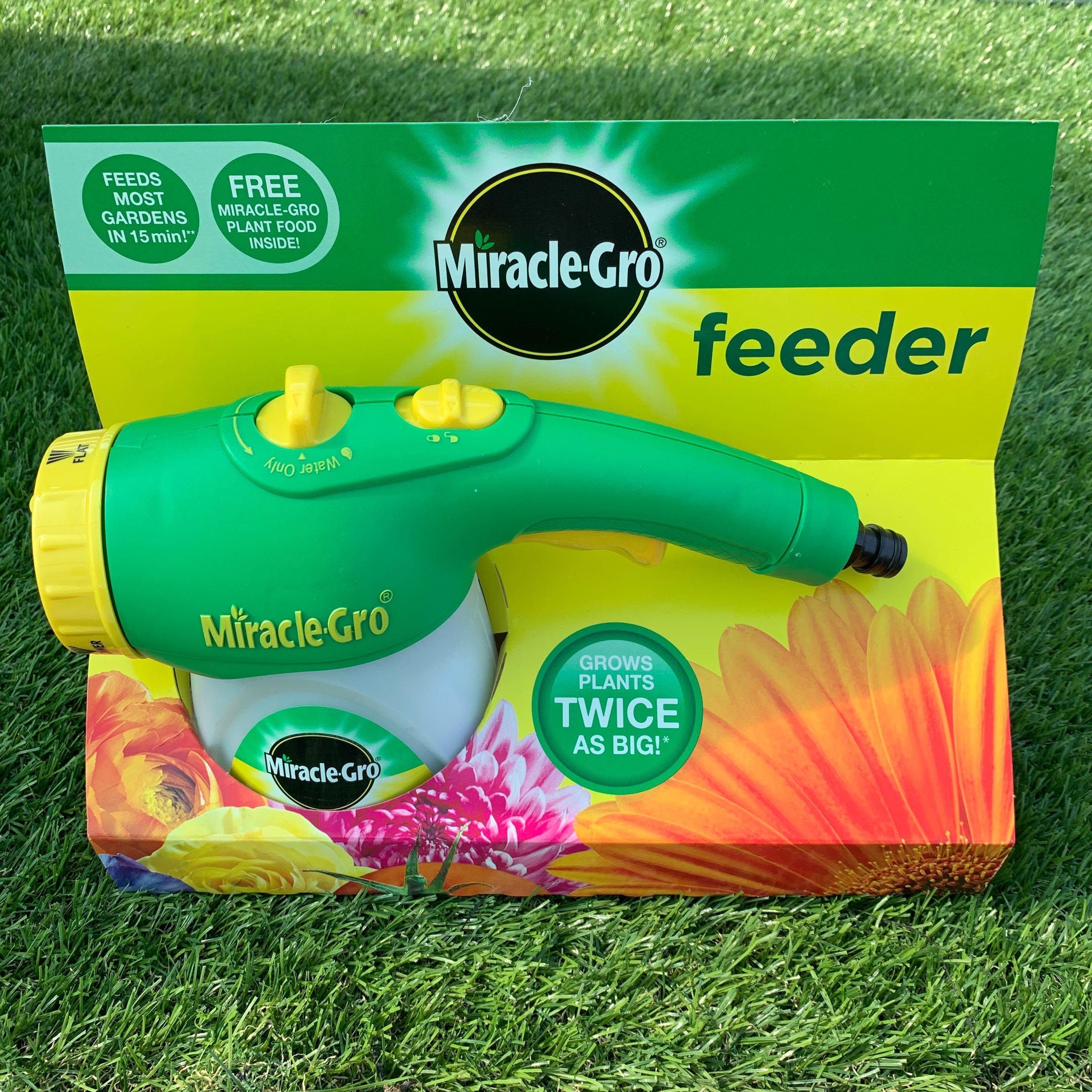 Miracle Gro Garden Hose Feeder