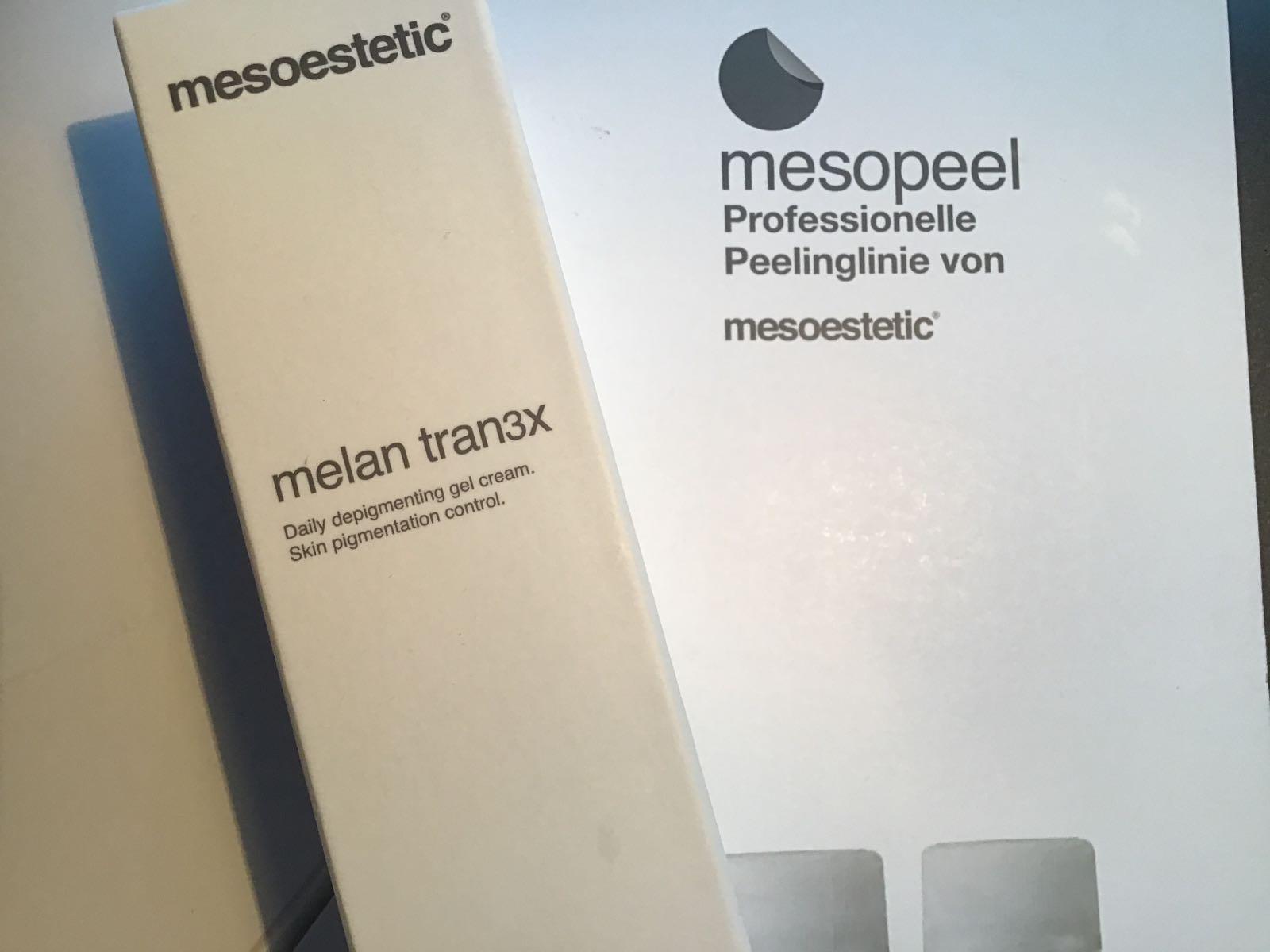Melan tran3x Depigmentationscreme  für Tag und Nacht