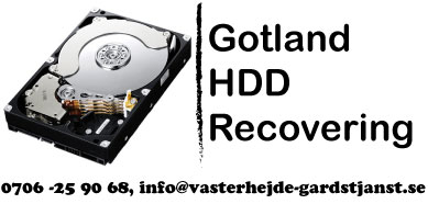 Gotland HDD Recovering