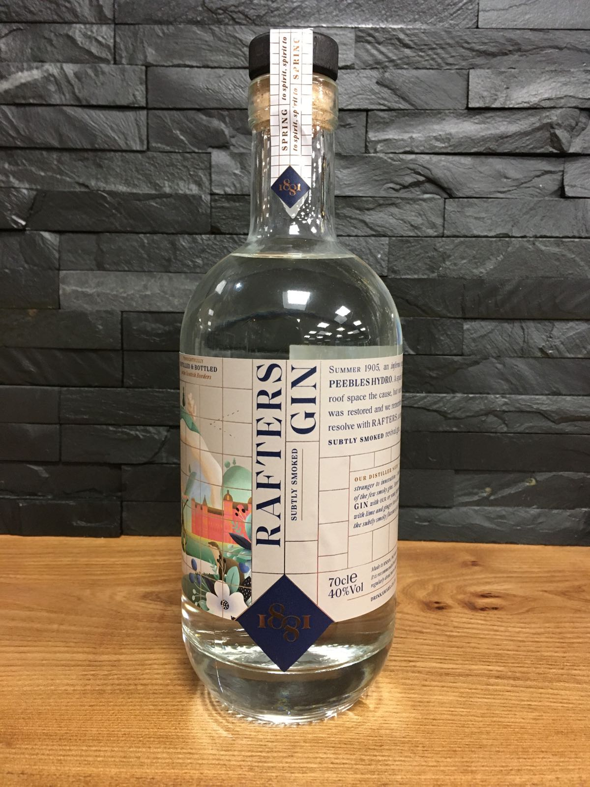 1881 Rafters Gin 70cl