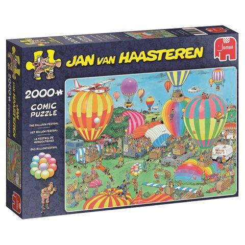 Jan van Haasteren: Ballon festival
