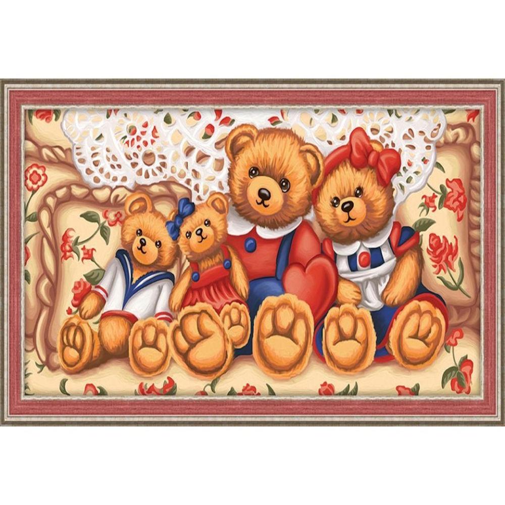 Teddy bjørne 60x30 cm