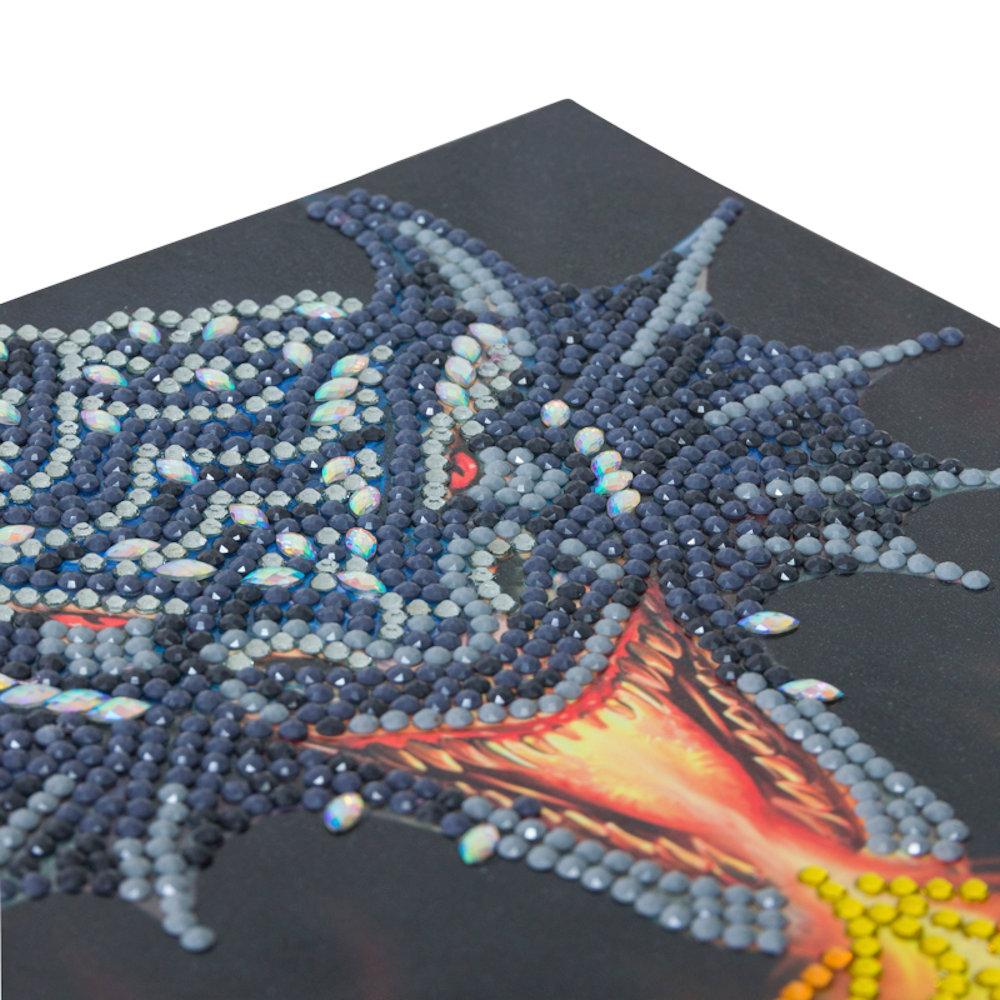Crystal Card sæt: Anne Stokes Dragon Fuíre Head