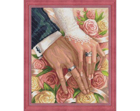 Bryllupsdag 40x50 cm