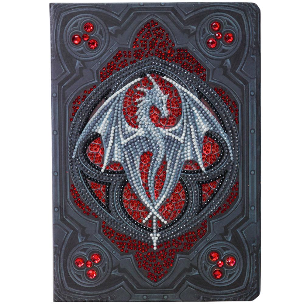 Notesbog Crystal Art: Anne Stokes Valour Alter Drake