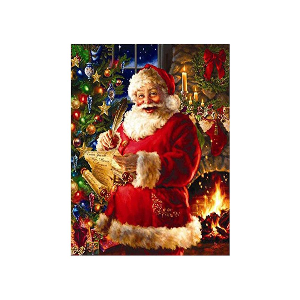 Julemanden 40x50 cm