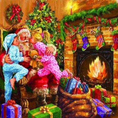 Alle elsker julemanden