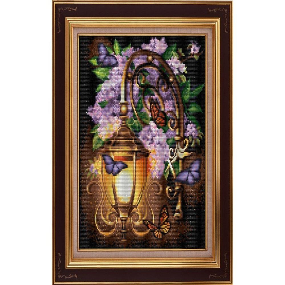 Syrener omkring lanterne 30x40 cm
