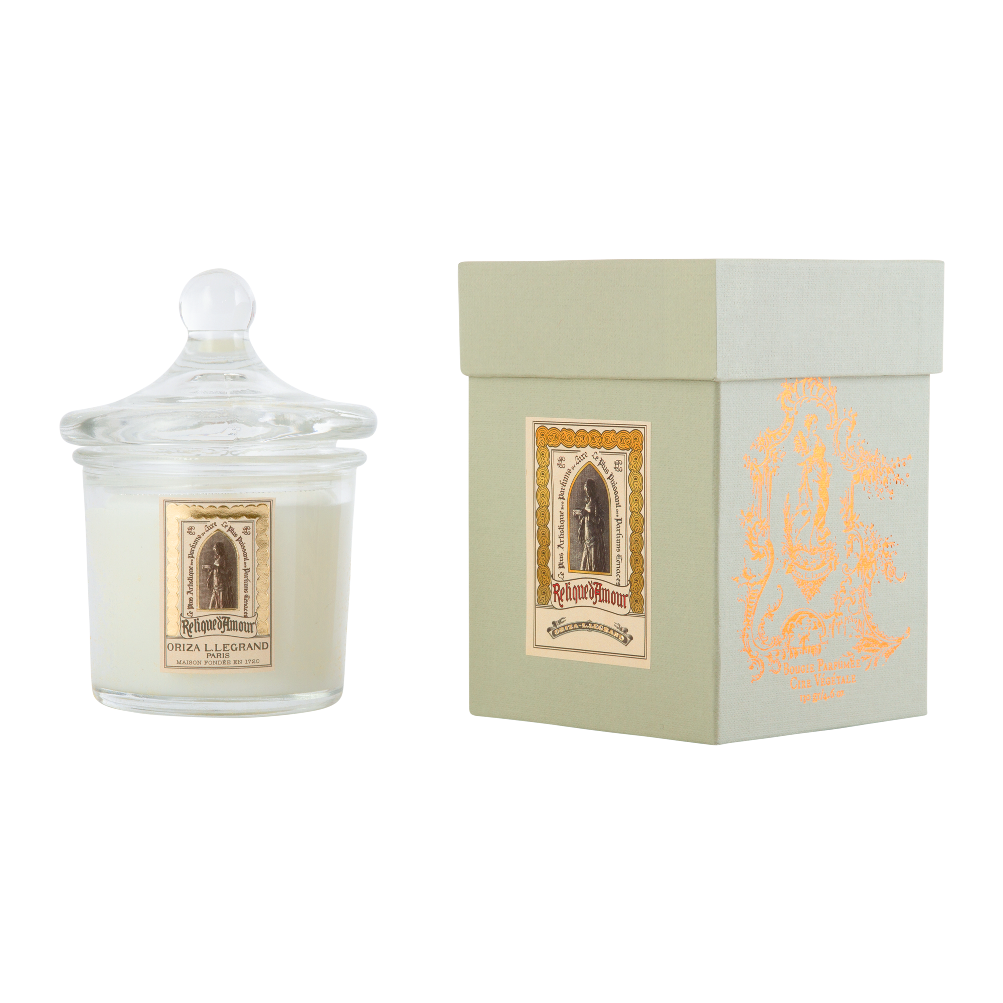 ORIZA L.LEGRAND Relique d'Amour Perfumed Candle 130 g