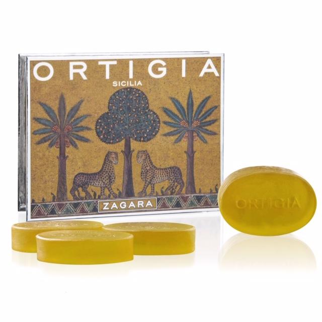 ORTIGIA Zagara 4X40g Soap