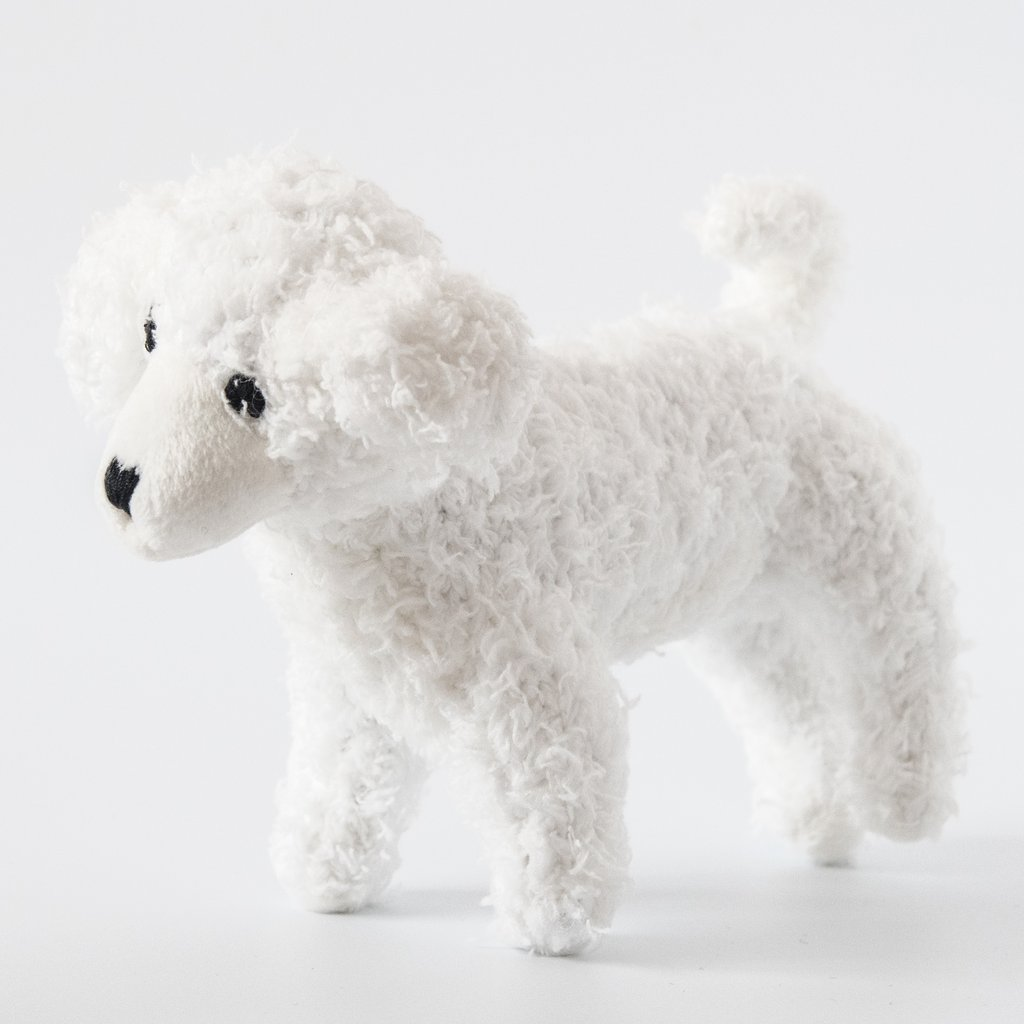 Poodle Dog Toy