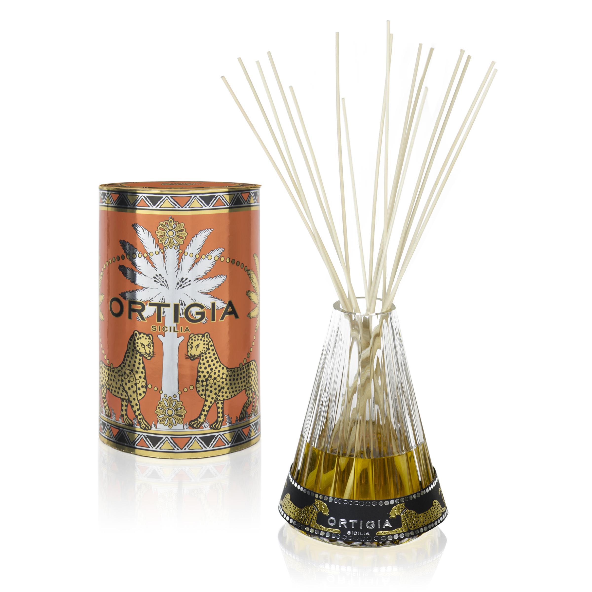 ORTIGIA Ambra Nera Perfume Diffuser Onda 500ml