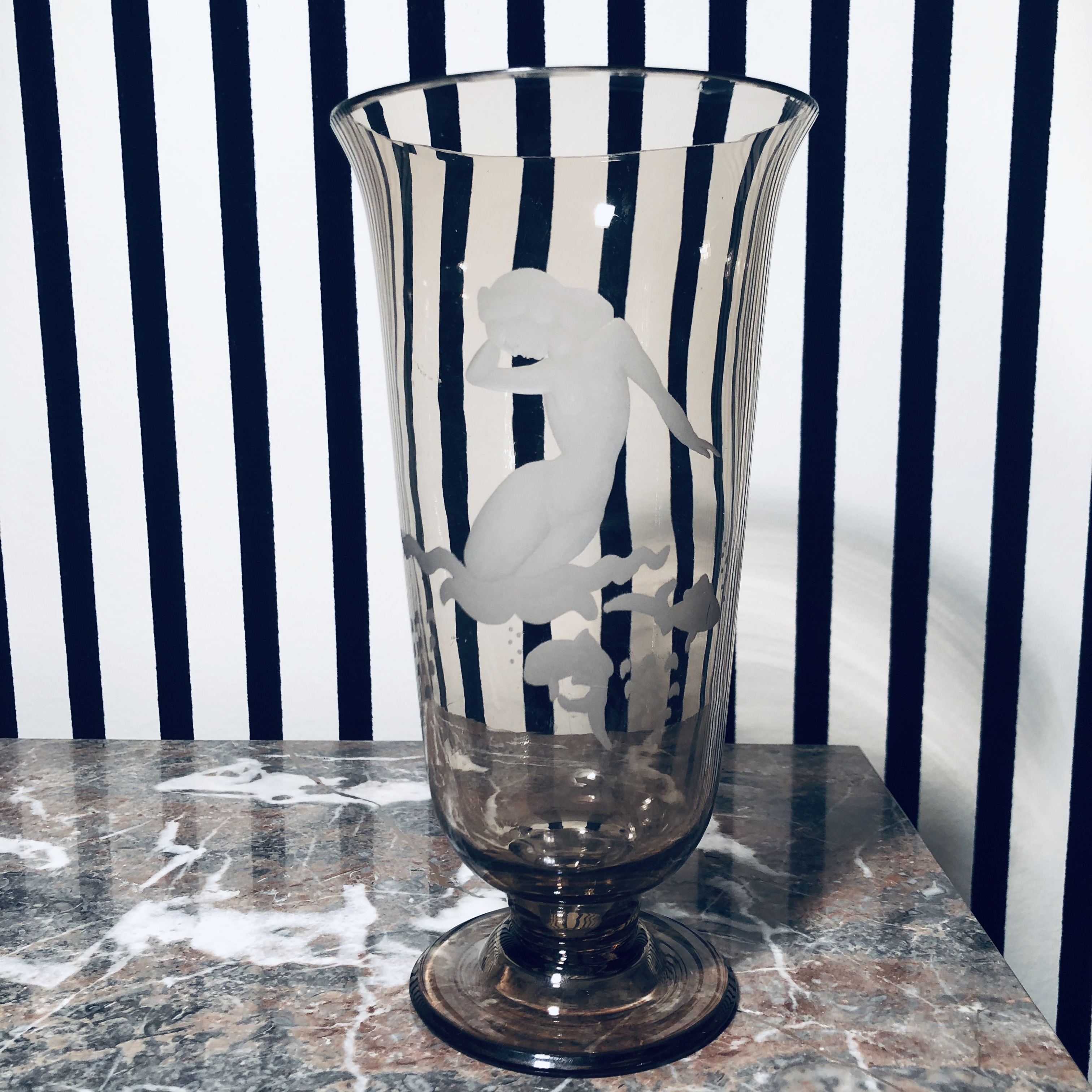 Finnish Glass Vase