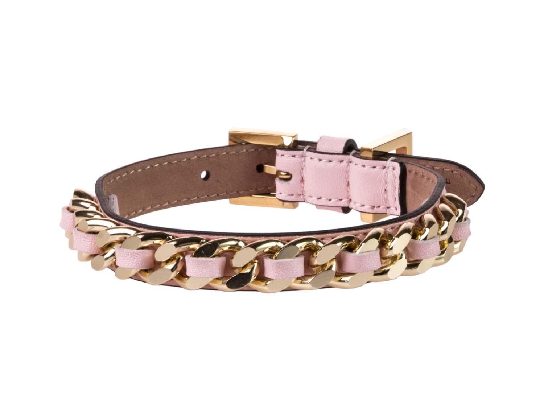 FRIDA FIRENZE Collar Chain Small, Light Pink