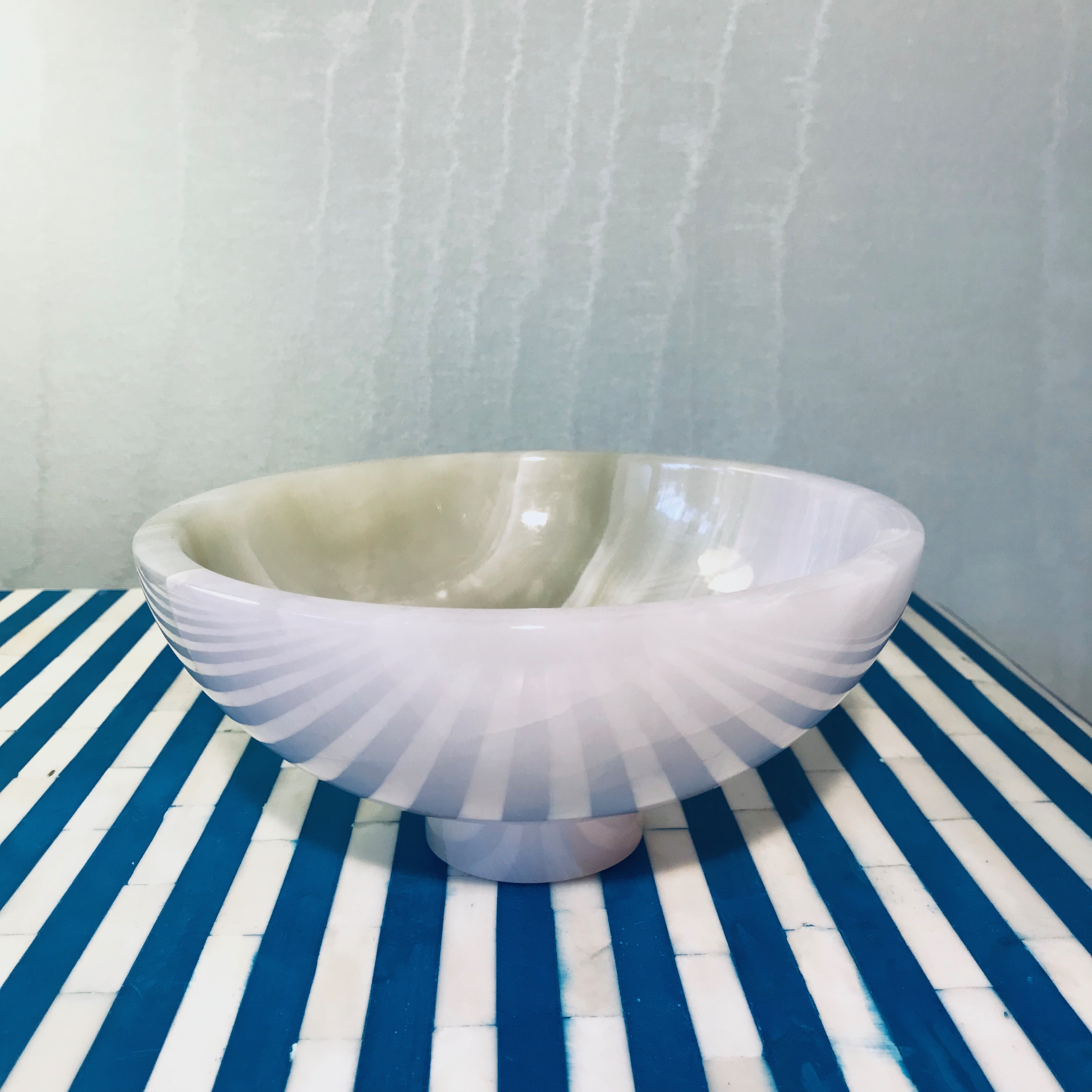Twosisestory Bowl, Candy Onyx