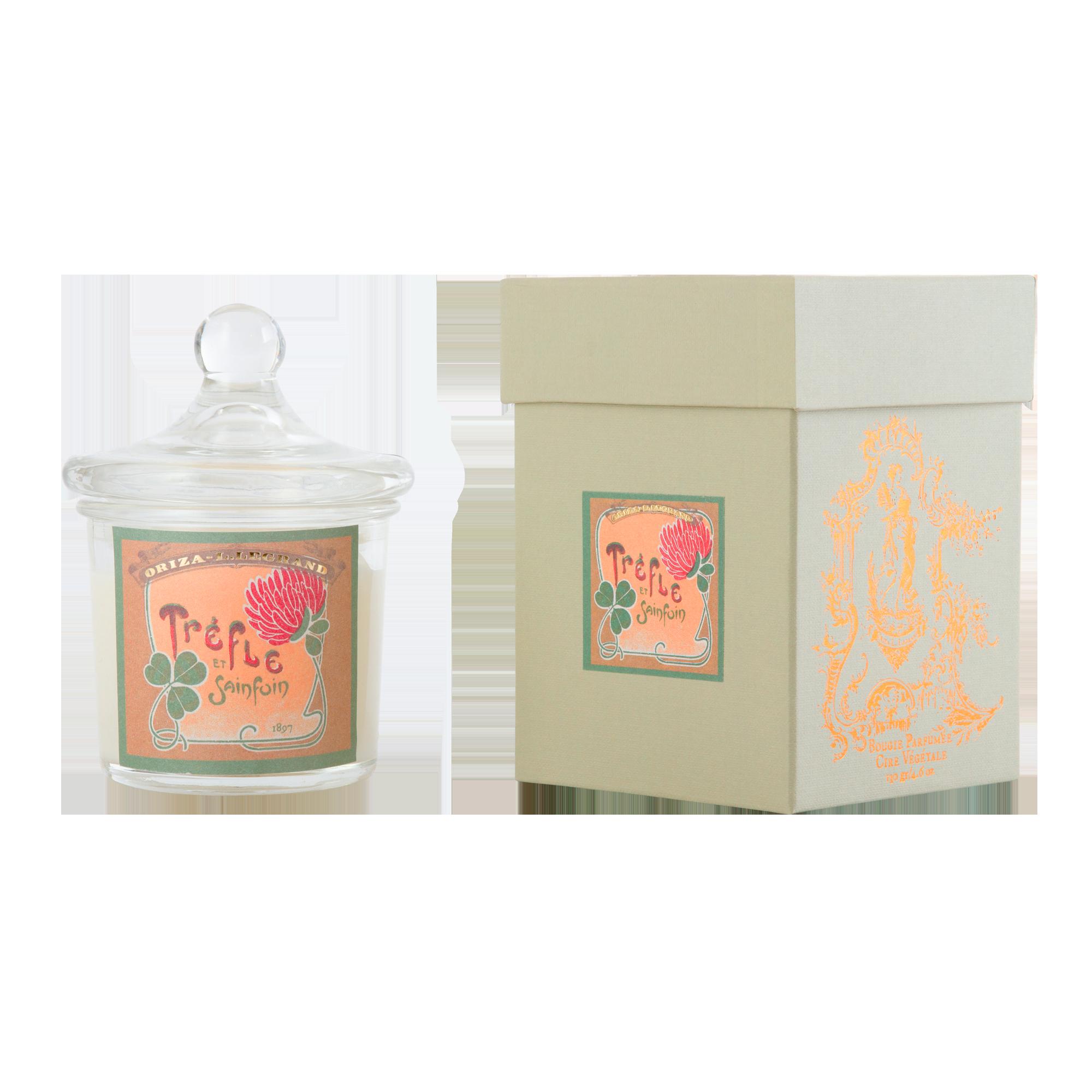 ORIZA L.LEGRAND Trèfle & Sainfoin Perfumed Candle 130 g