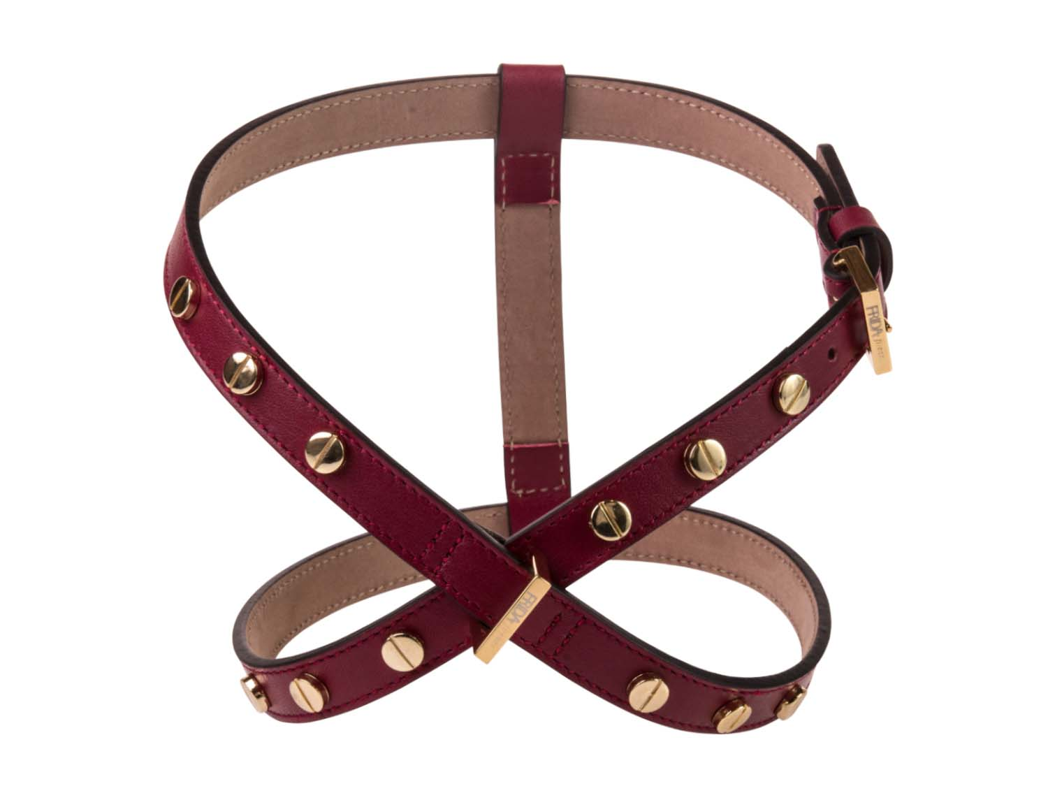 FRIDA FIRENZE Harness Stud Screw, Wine