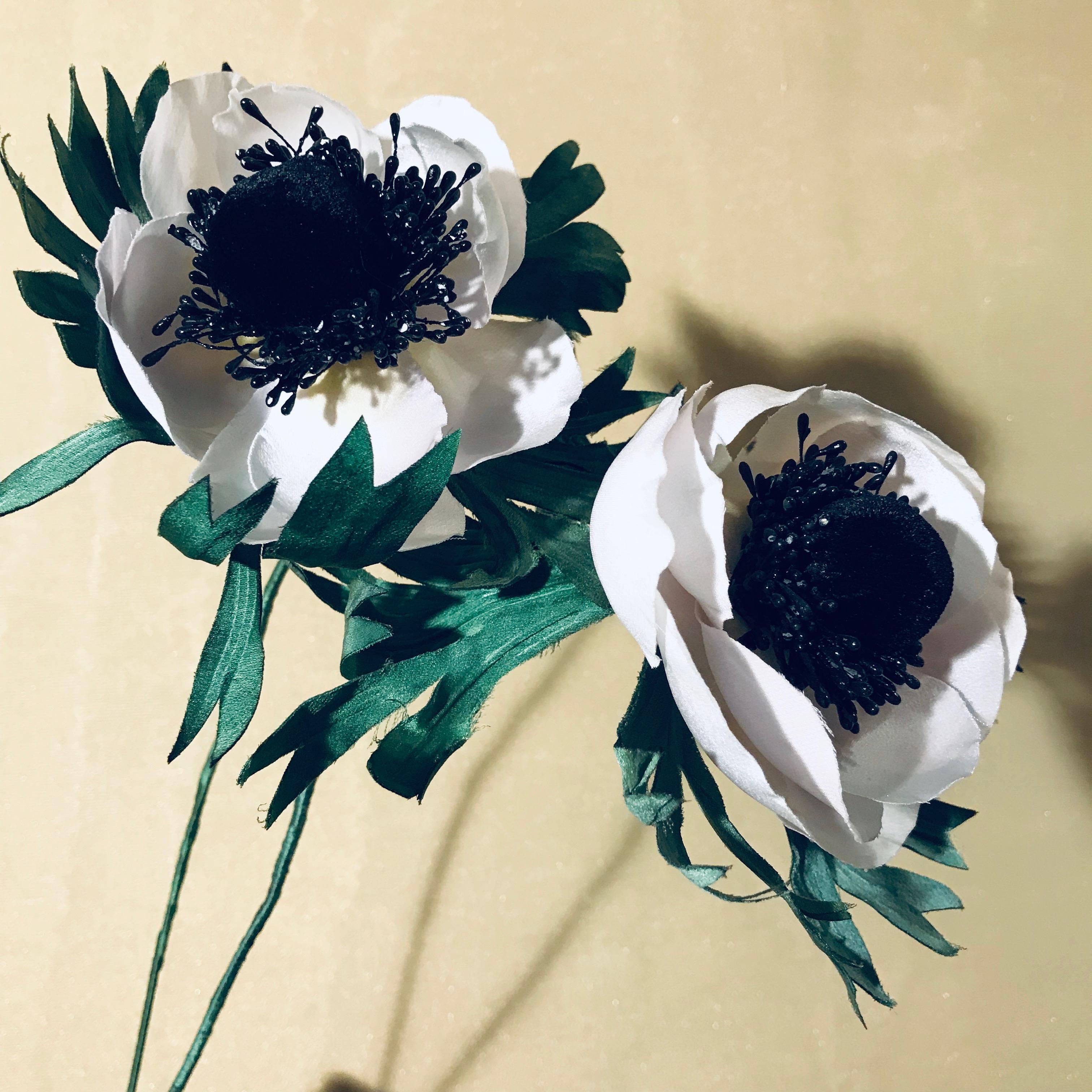 Effi Pingel Handmade Silk Windflower