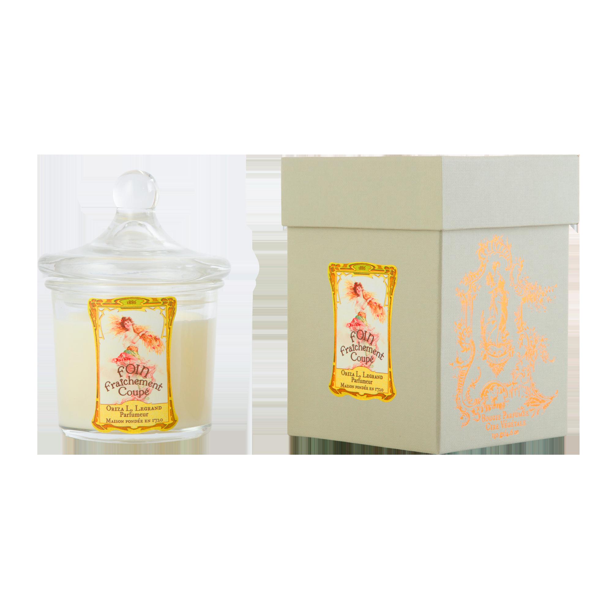 ORIZA L.LEGRAND Foin Fraîchement Coupé Perfumed Candle 130 g