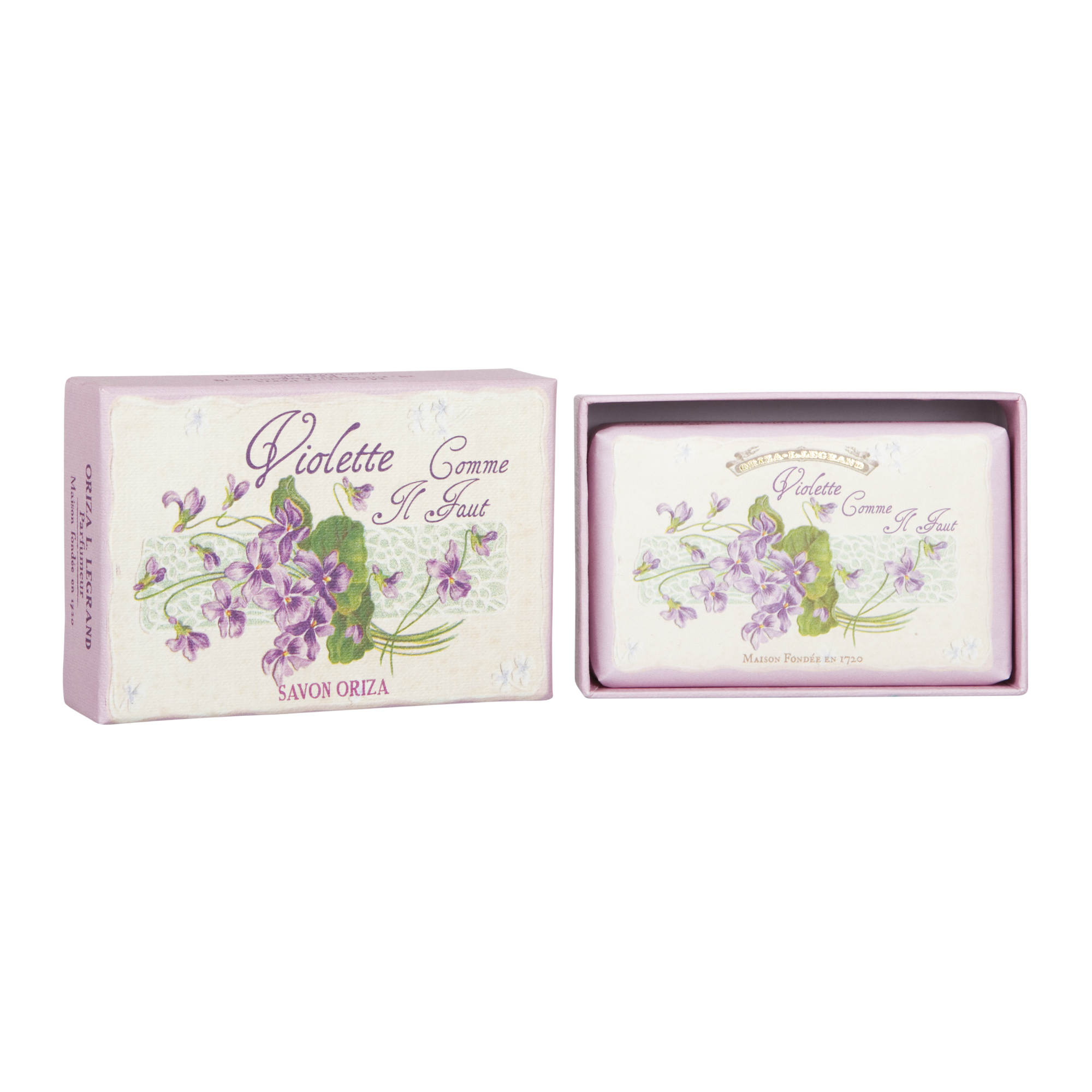 ORIZA L.LEGRAND Violette Comme Il Faut Soap 125 g