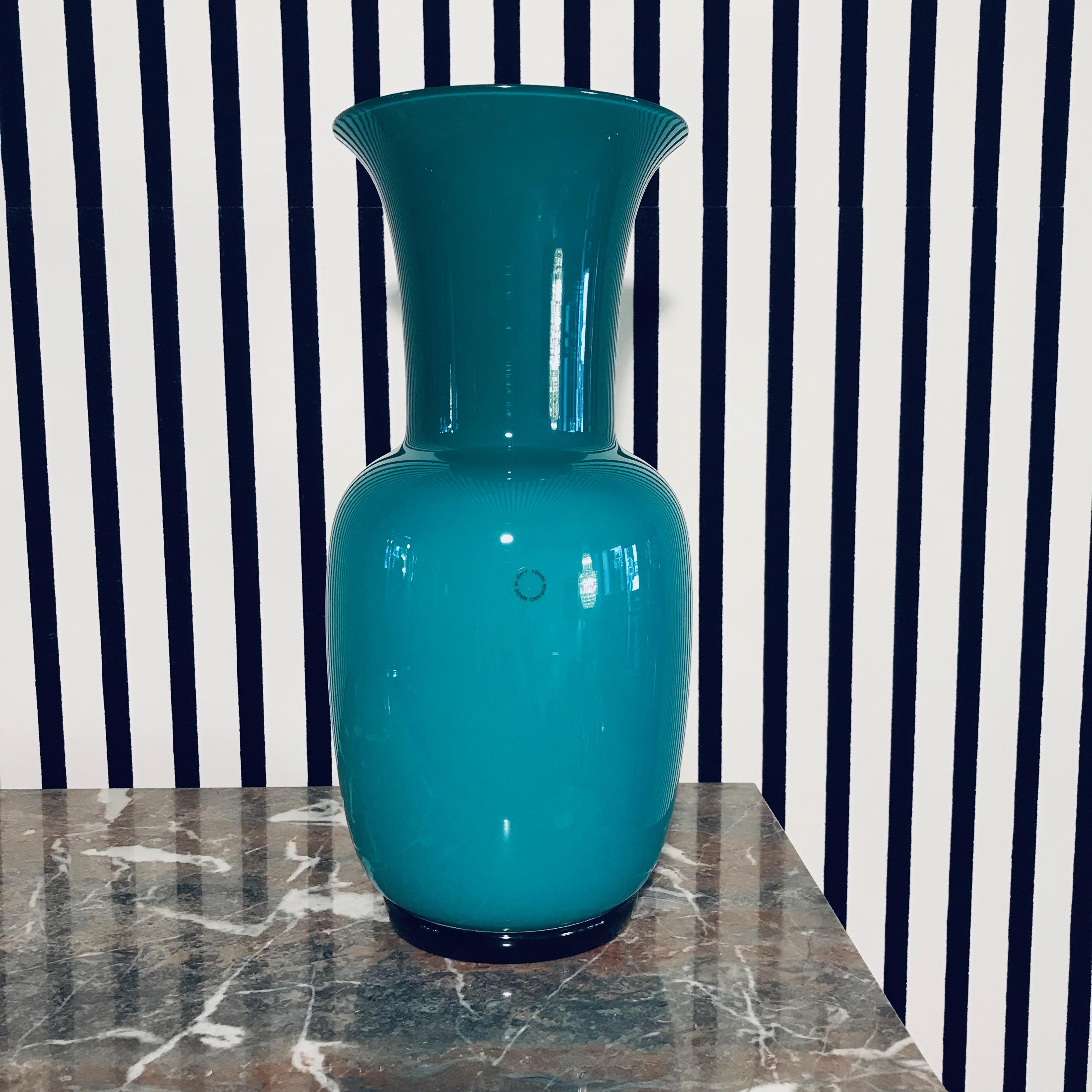 Green Venini Vase