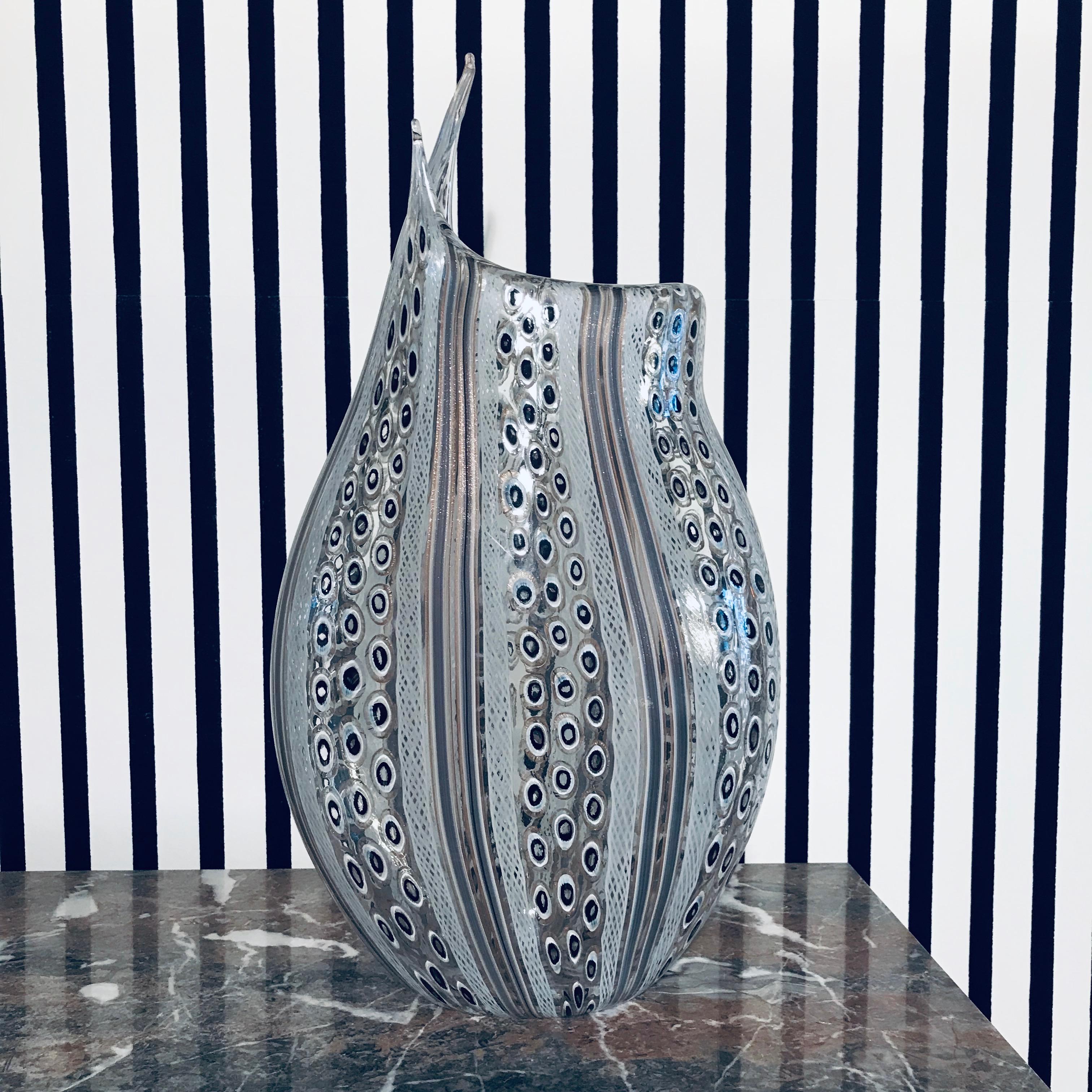 Unique Large Murano Vase