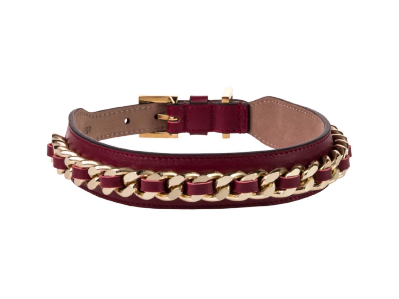 FRIDA FIRENZE Collar Chain Large, Wine