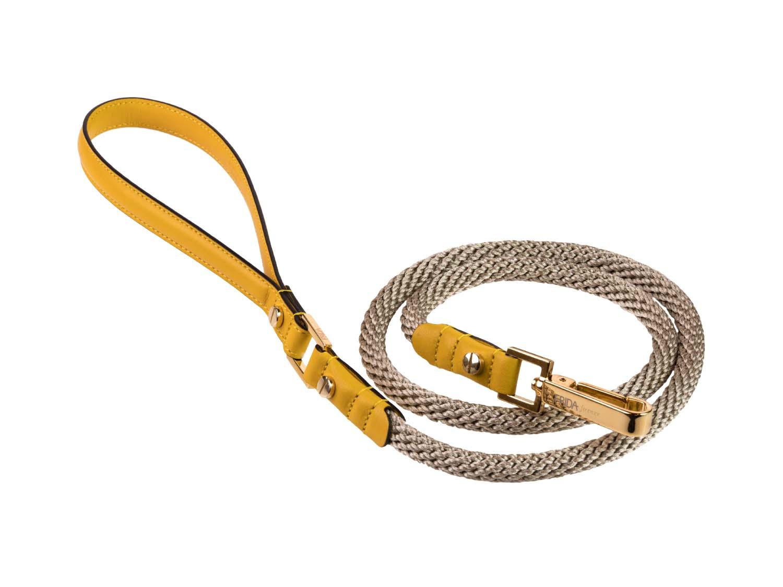 FRIDA FIRENZE Rope Leash, Sun
