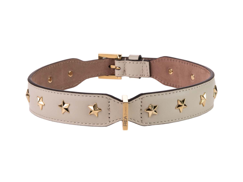 FRIDA FIRENZE Collar Stud Star Large, Antique