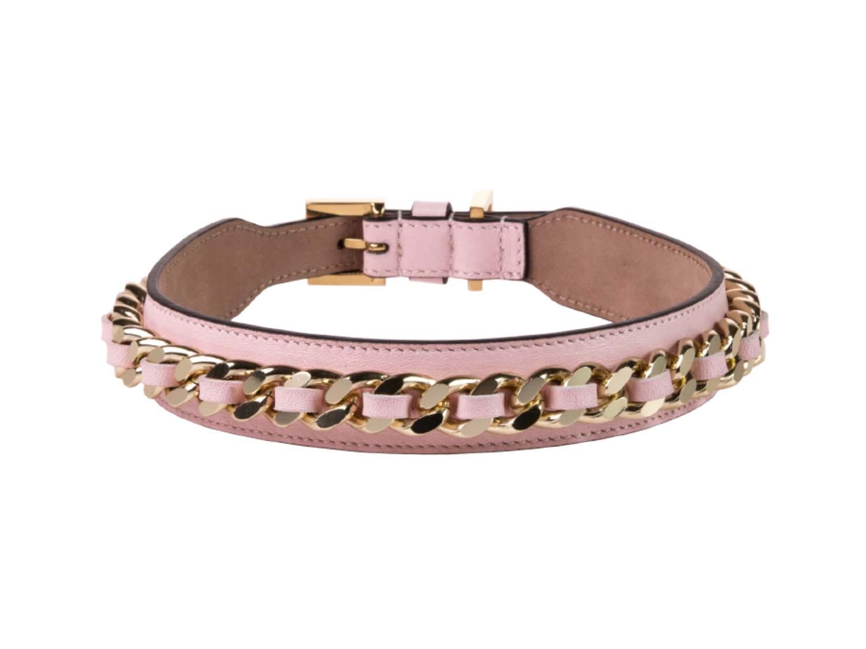 FRIDA FIRENZE Collar Chain Large, Light Pink
