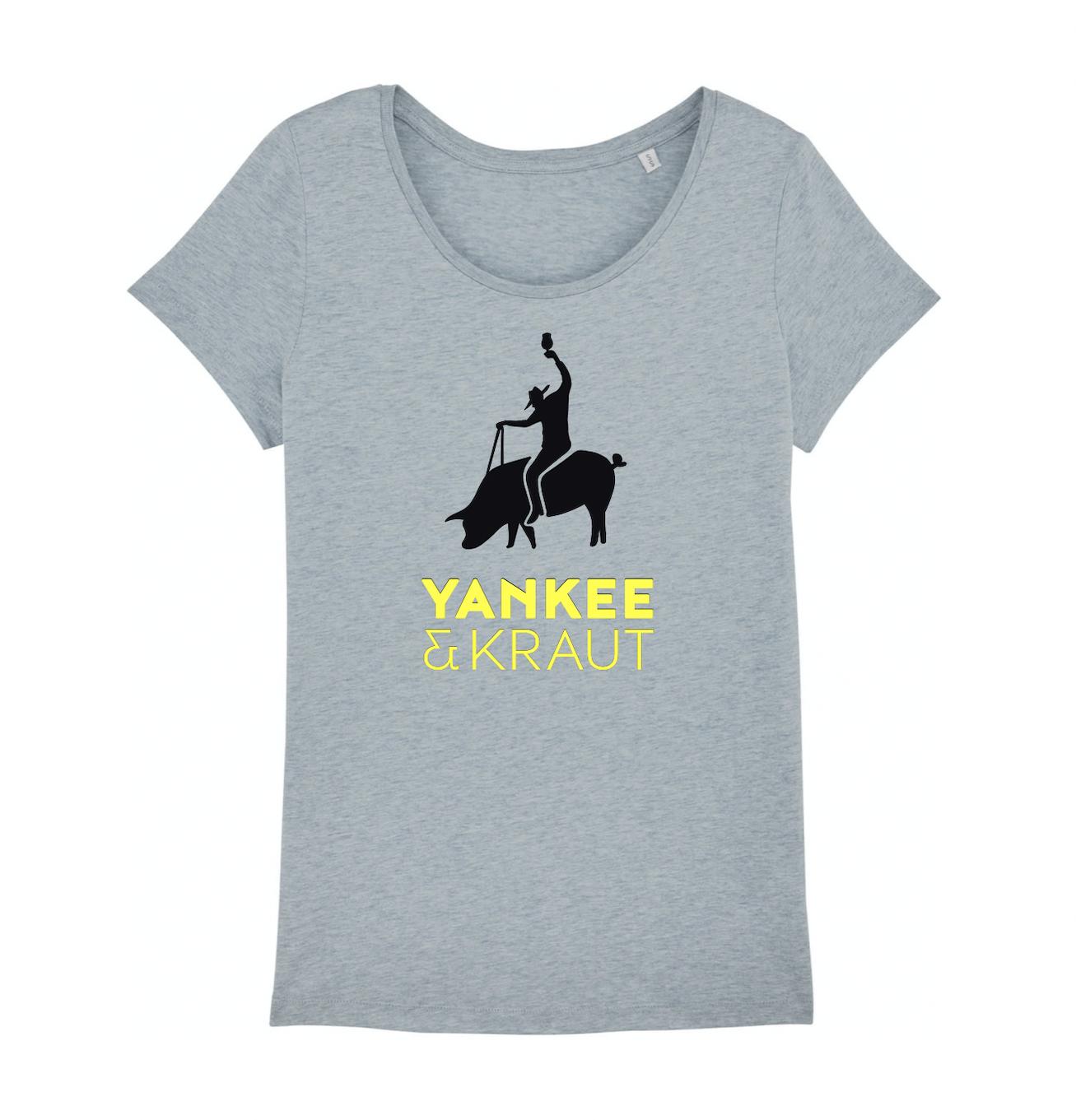 Frauen T-Shirt - Heather Ice Blue