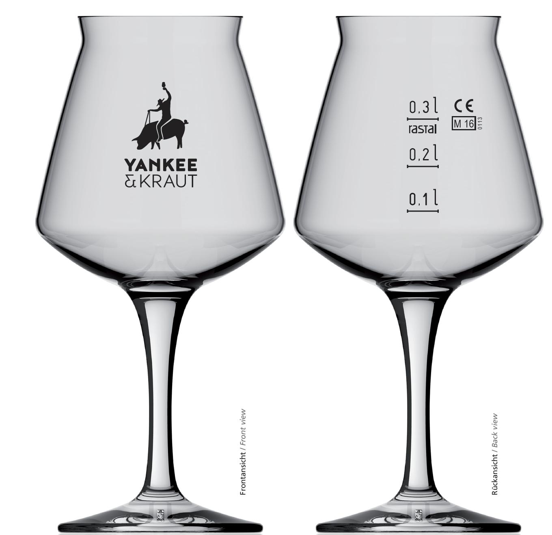 Y&K TEKU GLAS (0,33l)