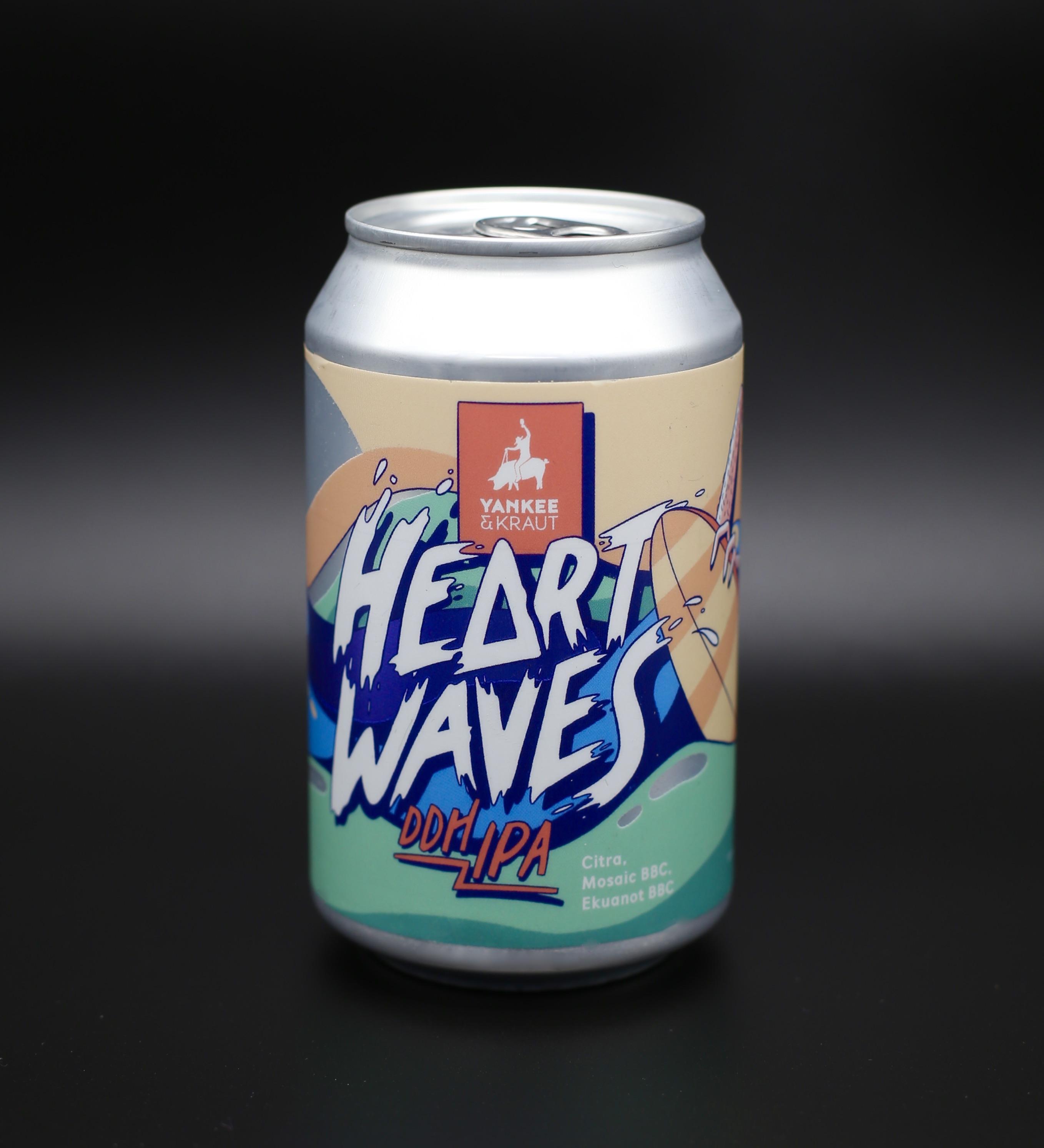Heart Waves - DDH NEIPA  0,33l