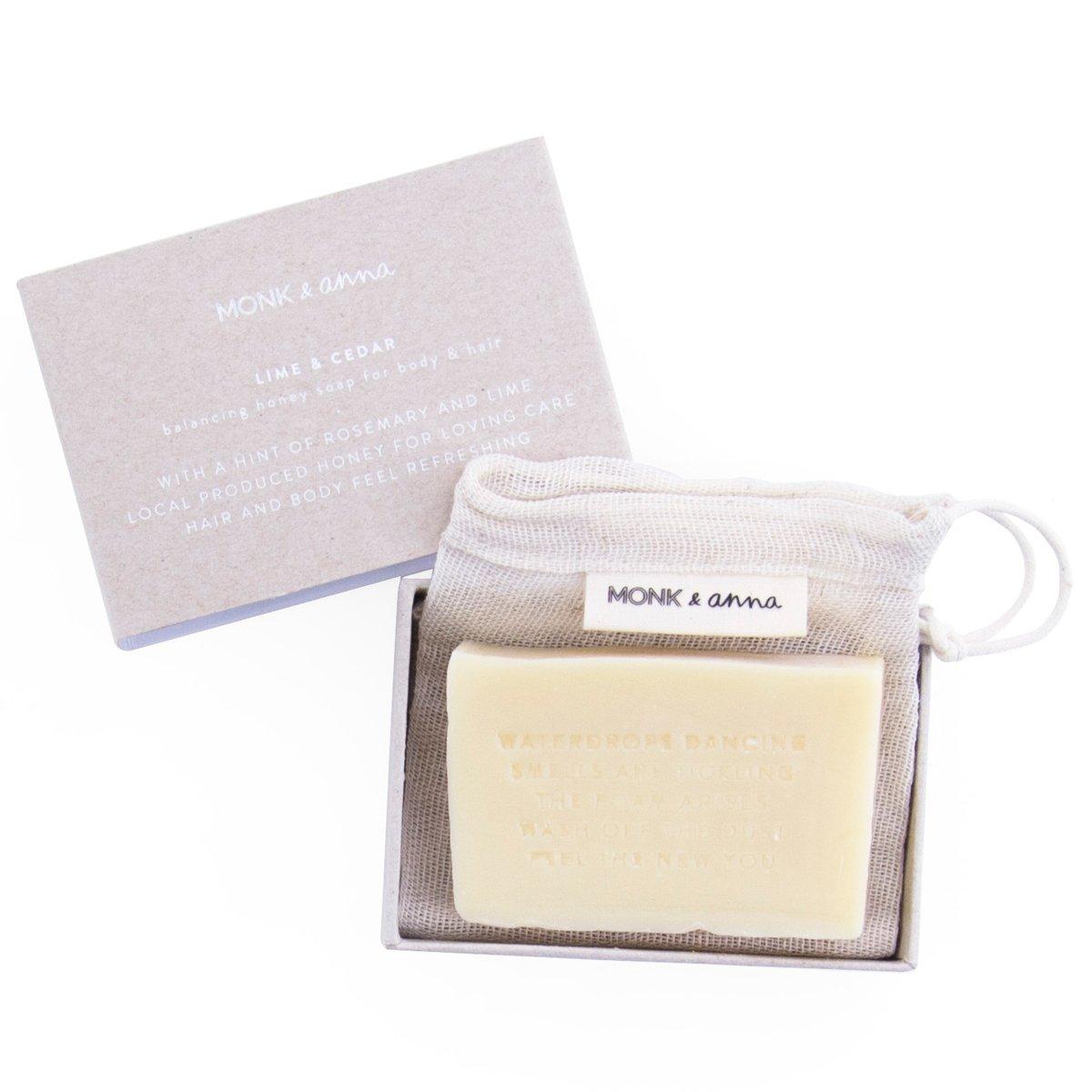 Soap - Lime & Cedar
