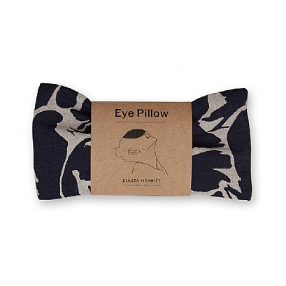 Wheat Eye Pillow - Navy