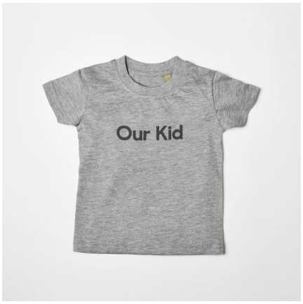 OUR KID T-Shirt, Grey