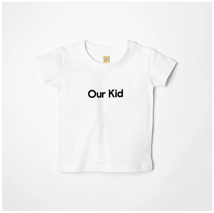 OUR KID T-Shirt, White