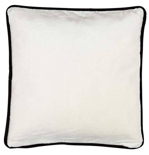 Liv Chiba Cotton & Velvet Cushion