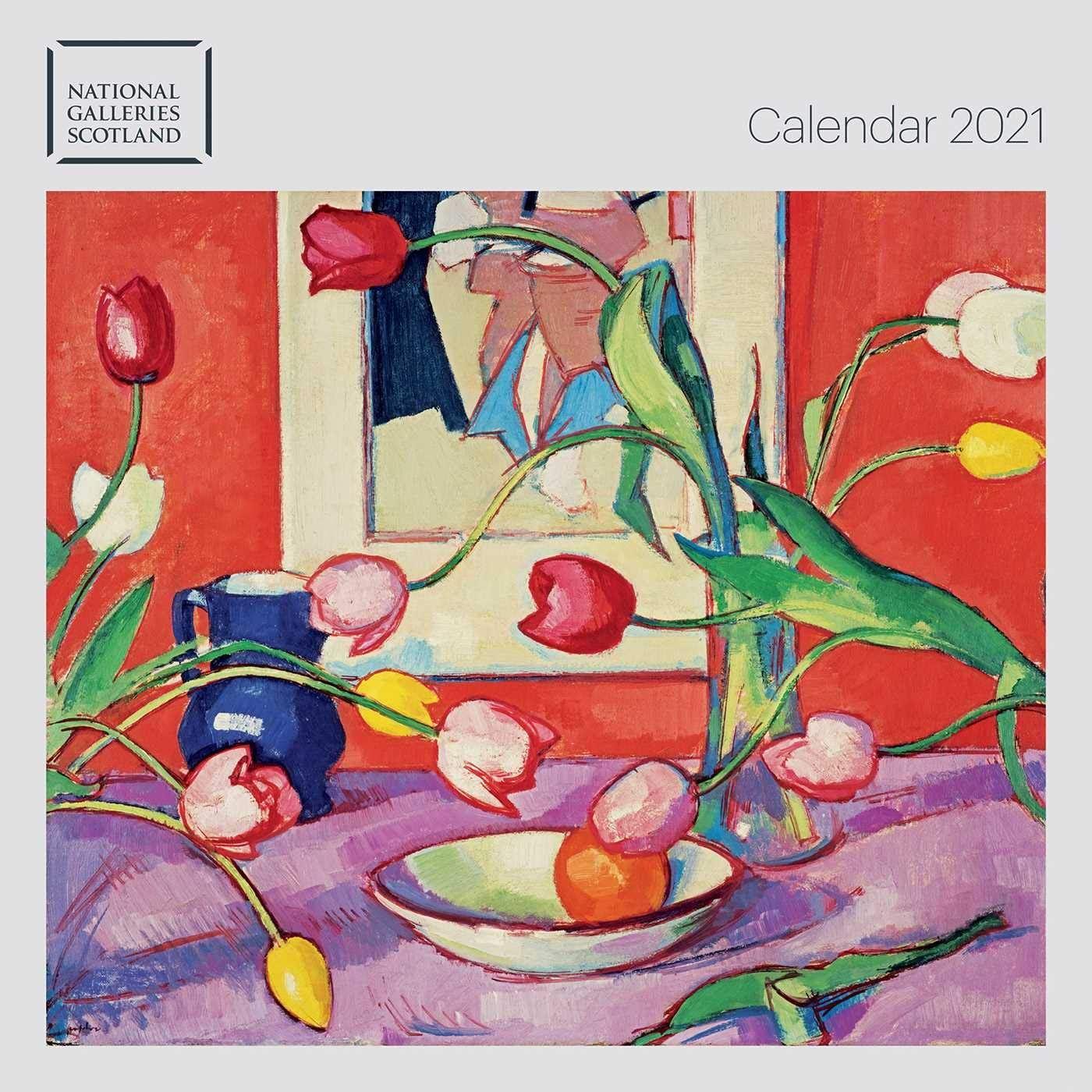 National Galleries of Scotland 2021 Wall Calendar