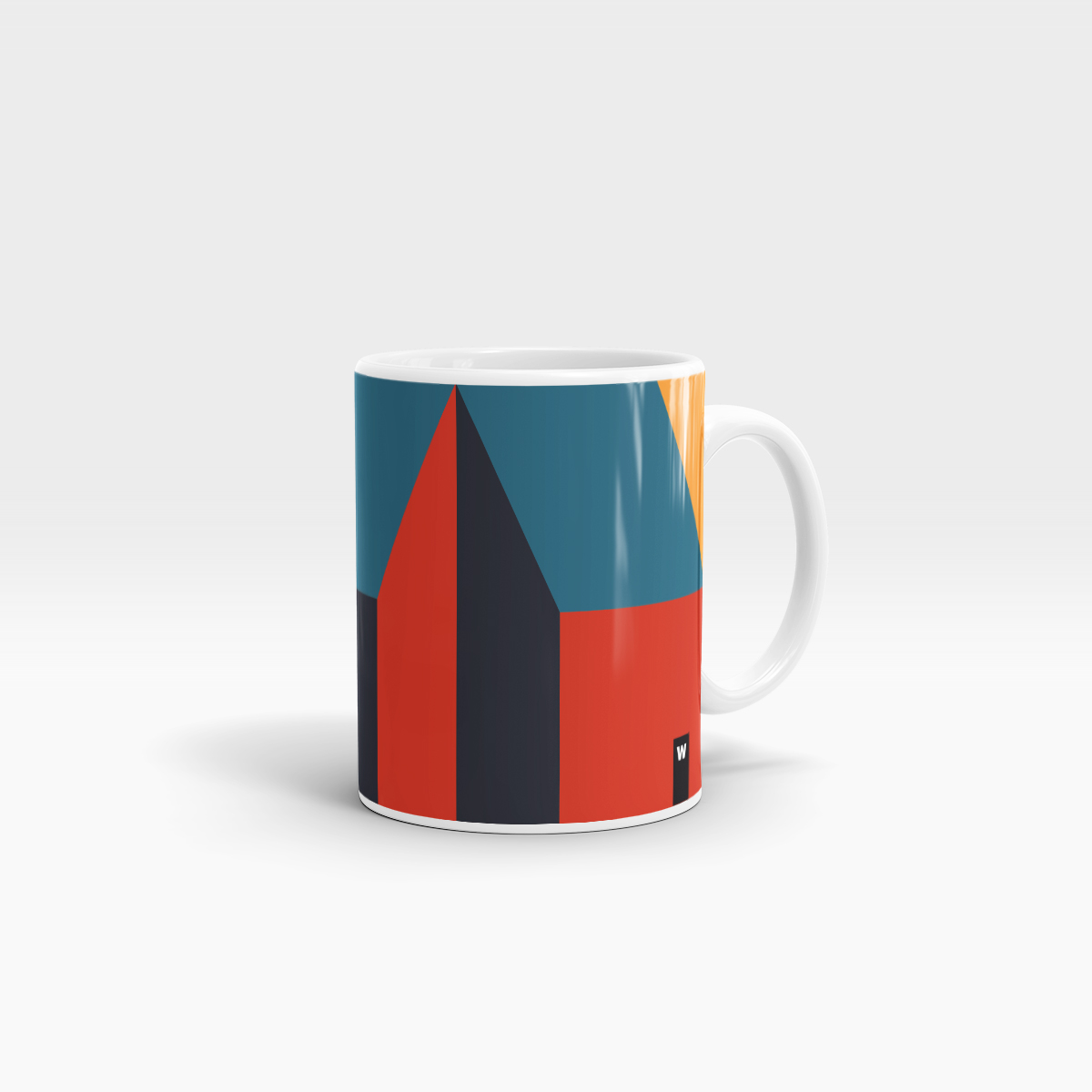 Pattern #2 Mug by WEEW Smart Design