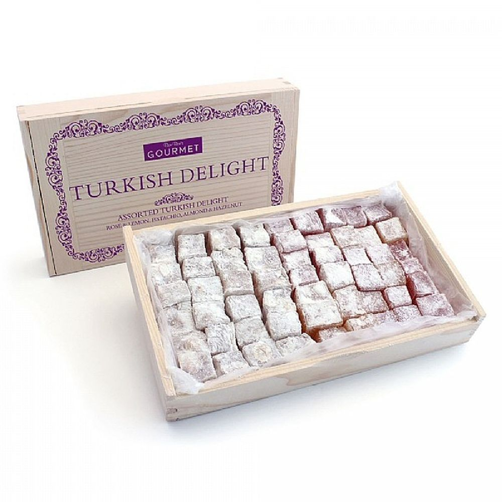 Box of Gourmet Assorted Turkish Delight