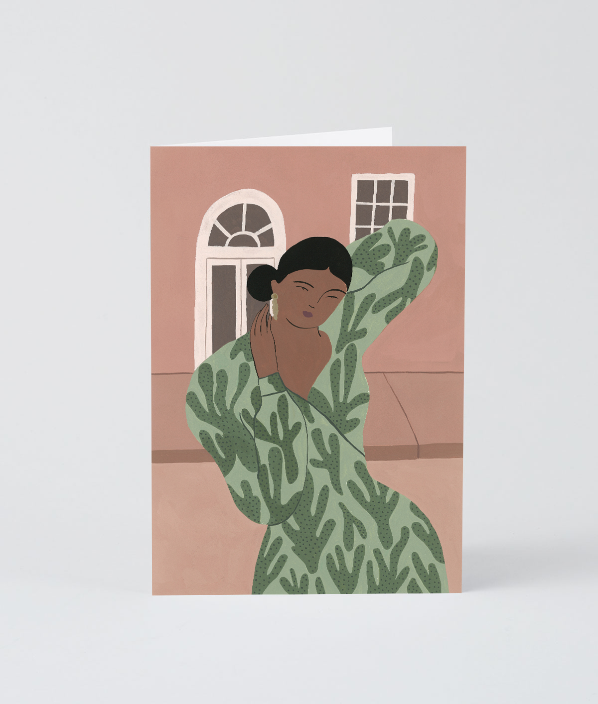The Pose Art Card by Wrap