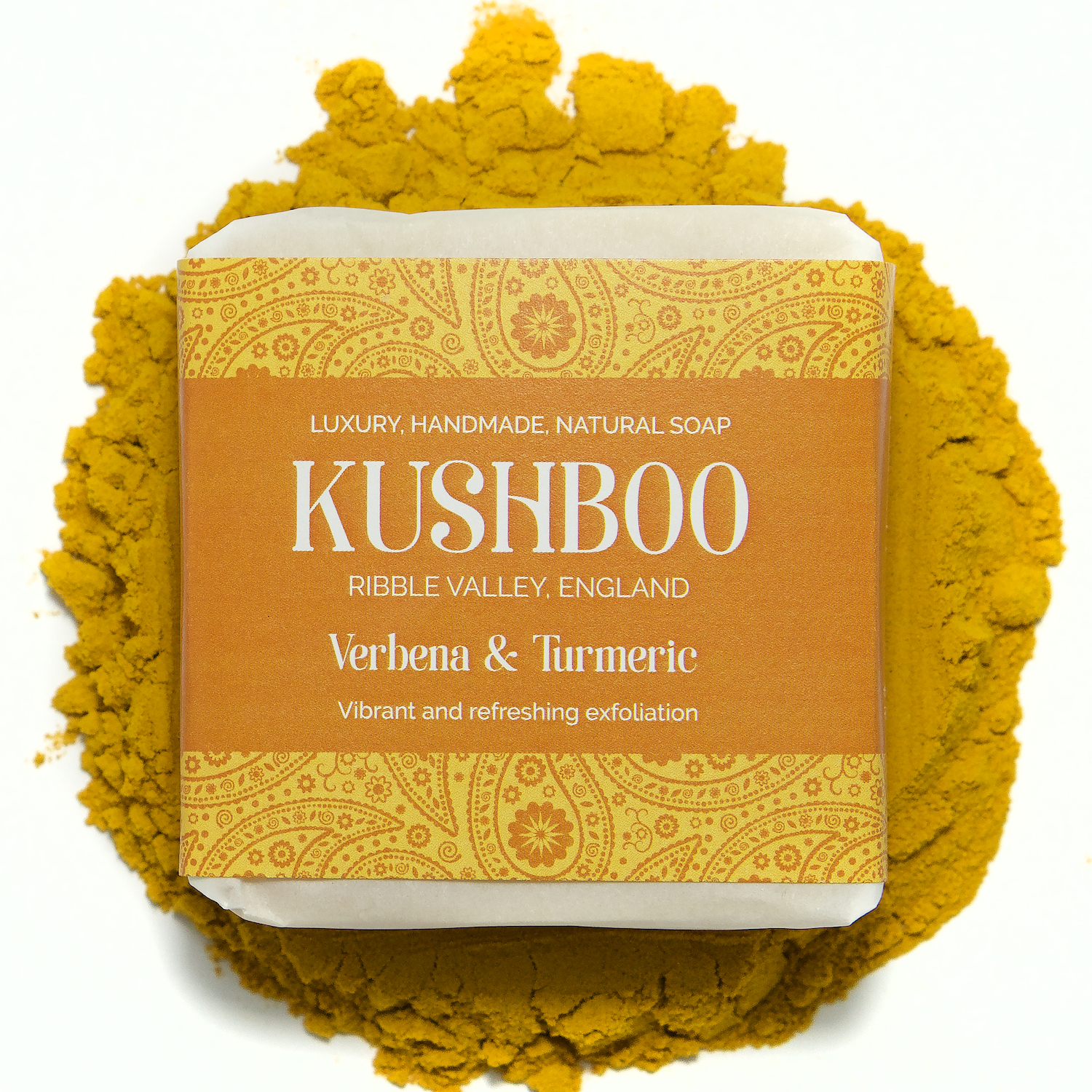 Kushboo Verbena and Turmeric Soap