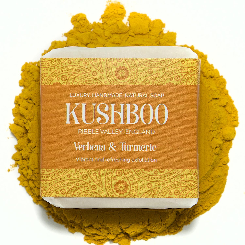 Kushboo Verbena and Turmeric Soap