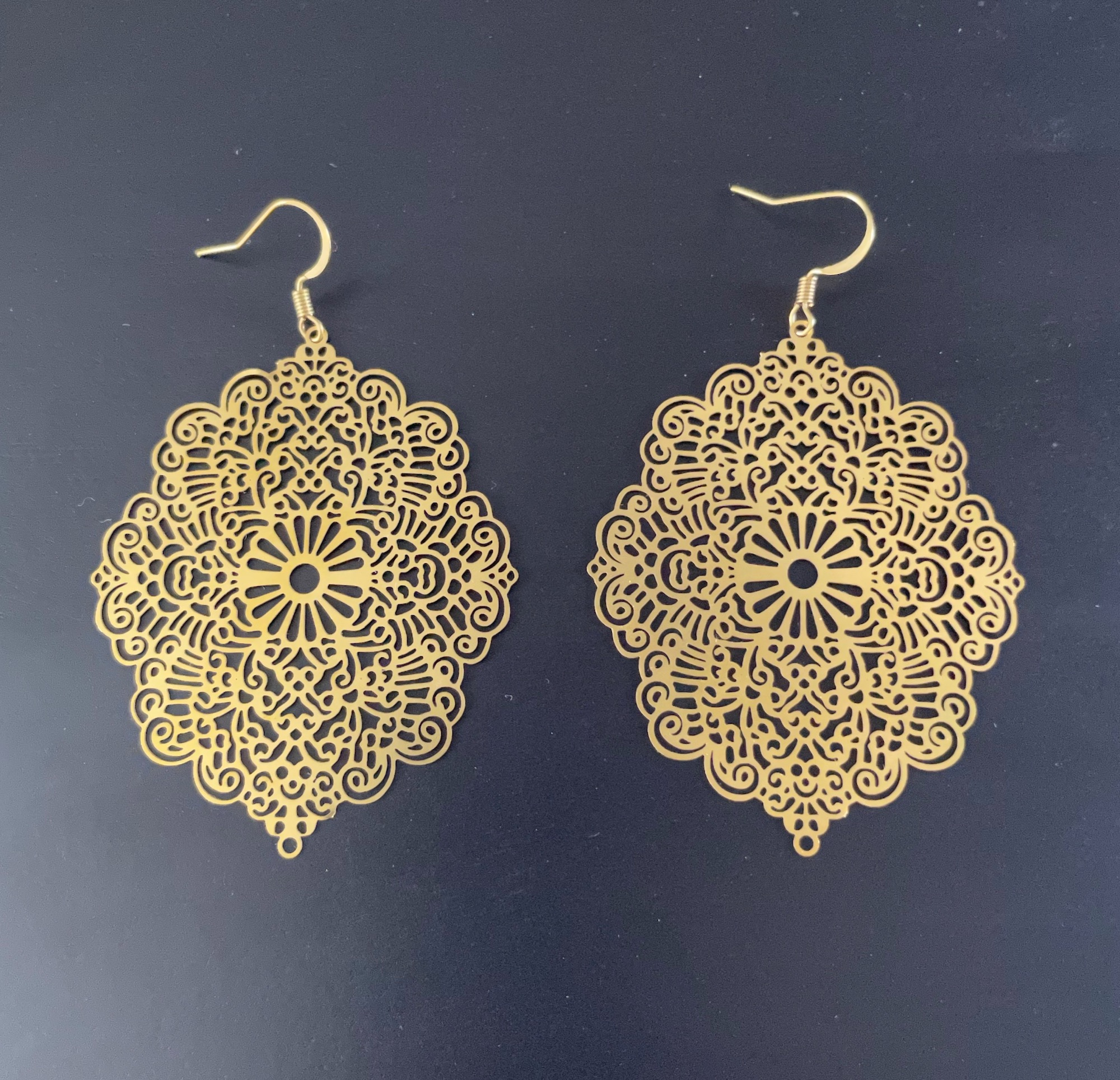 Irth Sofia Brass Earrings